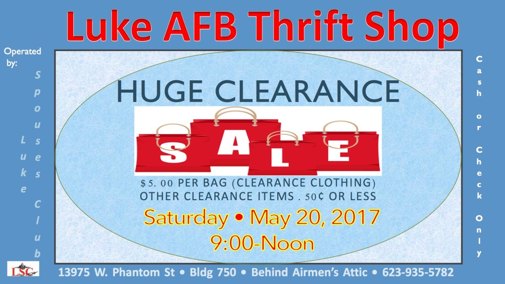 Clearance Sale May Fix